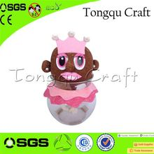 Lovely wholesale corporate gifts growing grass head toys corporate food gifts , gifts for corporate