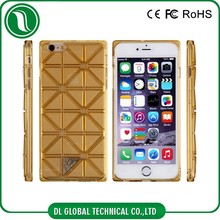 Stereo Lattice TPU Cell Phone Protective Case For iPhone 6, 6 Plus
