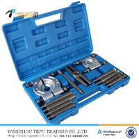 12pcs Bearing Splitter Gear Puller Fly Wheel Separator Set repair tool, bearing separator puller set