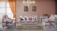 Danxueya- wooden renaissance furniture/ traditional sofa set/ high end luxury king chair for noble family