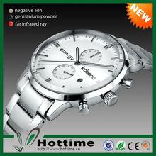 Top Sale Kabona 3 in 1 Bio Elements Energy Novelty Item Stainless Steel Brand Watches Men
