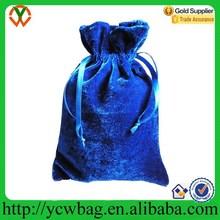 mini gift bag custom velvet drawstring pouch bag