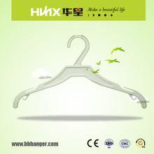 hbb007 cina appendiabiti camicia di plastica abito display gancio con logo personalizzato e colore