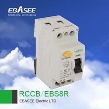 Big promotion advanced 1P+N test regularly button 30mA RCCB residual circuit current breaker