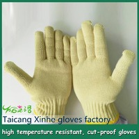 Abrasion cut resistant anti cut Cotton Glove