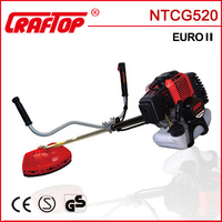 51.7cc 1.6kw manual hand grass cutter CE EURO II Approved