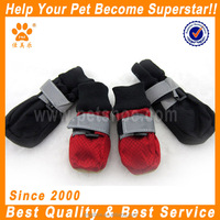 JML Winter Warm Waterproof Pet Dog Shoes Anti Slip Rain Boots For Large Dog Red Blue
