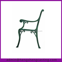 antique cast iron garden bench legs
