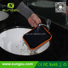 2a portable mobile phone solar chargers with good quality solar panels for lenovo and samsung mobile phone and your home using