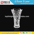 flower glass vase Hot selling glass vase home decoration flower glass vase round tall acrylic vase TLHP250HD