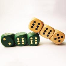 wholesale wooden dice Shape usb flash drive usb memory stick
