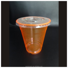 Wholesale Clear Disposable Plastic Cup with Dome Lid