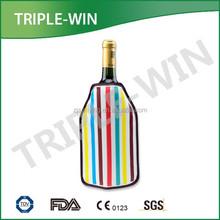 Black sleeve wrap Wine Bottle Chiller Cooler