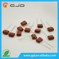 hot sale 1.5uf 63V Polyester film capacitor