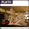 flying inflatable fish, inflatable animal for decoration, promotion or advertsing