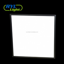 Ultra slim edge-lit high lux recessed led panel light