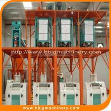 maize flour mill machinery