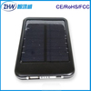 Shenzhen factory supply solar power bank 5000mah portable charger for Tablet PC, mobile phone, PSP,PDA, camera etc