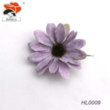 fancy flower hair accessories camo daisy flower hair hairpins for girls