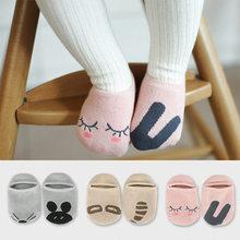 Niños de dibujos calcetines antideslizantes calcetines del piso del bebé
