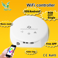 Wifi Wireless RGB LED Strip Controller for iOS iPhone iPad Android Smartphone Tablet led sign wireless controller wifi
