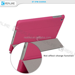 three folded stand case for ipad mini 3, alibaba china manufacturer for tablet cases
