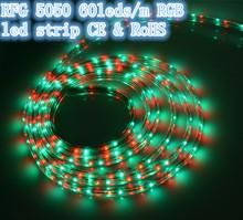 2812 addressable rgb led strip light 220v 40-50lm for led advertising boards