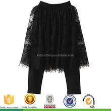 OEM Service girls black skirts and girl pants