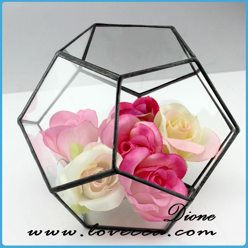 plantes d 39 int rieur verre terrarium verre clair g om trique suspendus terrarium mini serre. Black Bedroom Furniture Sets. Home Design Ideas