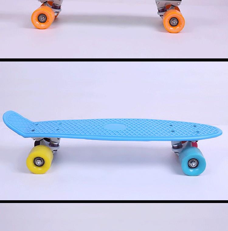 HSJ94 야외 강력한 4 바퀴 오프로드 모터 전기 스케이트 성인