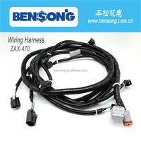 Hitachi excavator parts ZAX-470 pump wiring harness