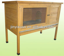 Simple Wooden Rabbit Cage with Tray / Bunny Hutch / Rabbit House