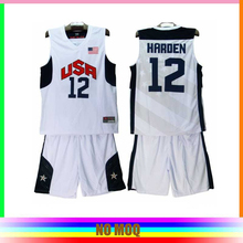 Custom your own America basketball jersey basketball uniform