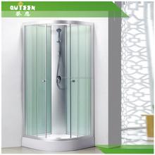 Frameless Five Star Hotel Whole Shower Room