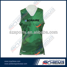 Custom Unisex Mesh Basketball Jerseys Mens Sports Wear