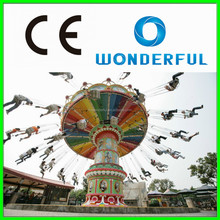 The most attractive amusement park rides outdoor playground equipment flying chair for sale