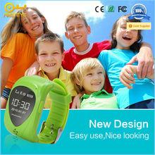 Waterproof 2015 wrist watch gps tracking device for kids SIM Dial Call GSM Position Tracker Reloj SOS