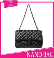 Hot sale black minaudiere bag accessories bag small shoulder mini handbag lining lady women pu leather bulk wholesale handbags