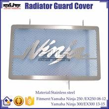BJ-RG-KA001 Highly Recommended Stainless Steel Radiator Guard Cover for Kawasaki NINJA EX 250 300
