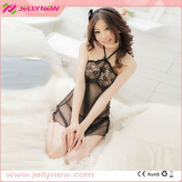 JNQ039 Transparent sexy nightwear sexy dress sexy lingerie for women