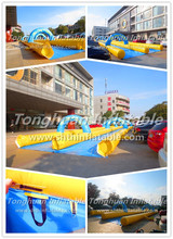 2015 two lane slide the city inflatables , longest water slide