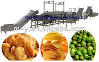 net belt continuous french fries production line