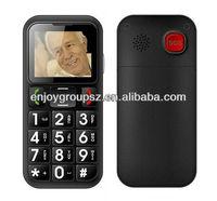 China Unlocked Big button big dual sim SOS Bluetooth hand phone