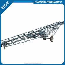 2015 factory price most popular gold quality Coal/ Cement/ Fertilizer/ Sand Portable Belt Conveyor Machine for Sale