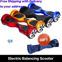 Warehouse in the USA 6.5 inch Free Shipping electric unicycle smart balancing scooter