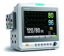 HT6 12.1inch plug in patient monitor non-invasive blood pressure ECG support touch screen