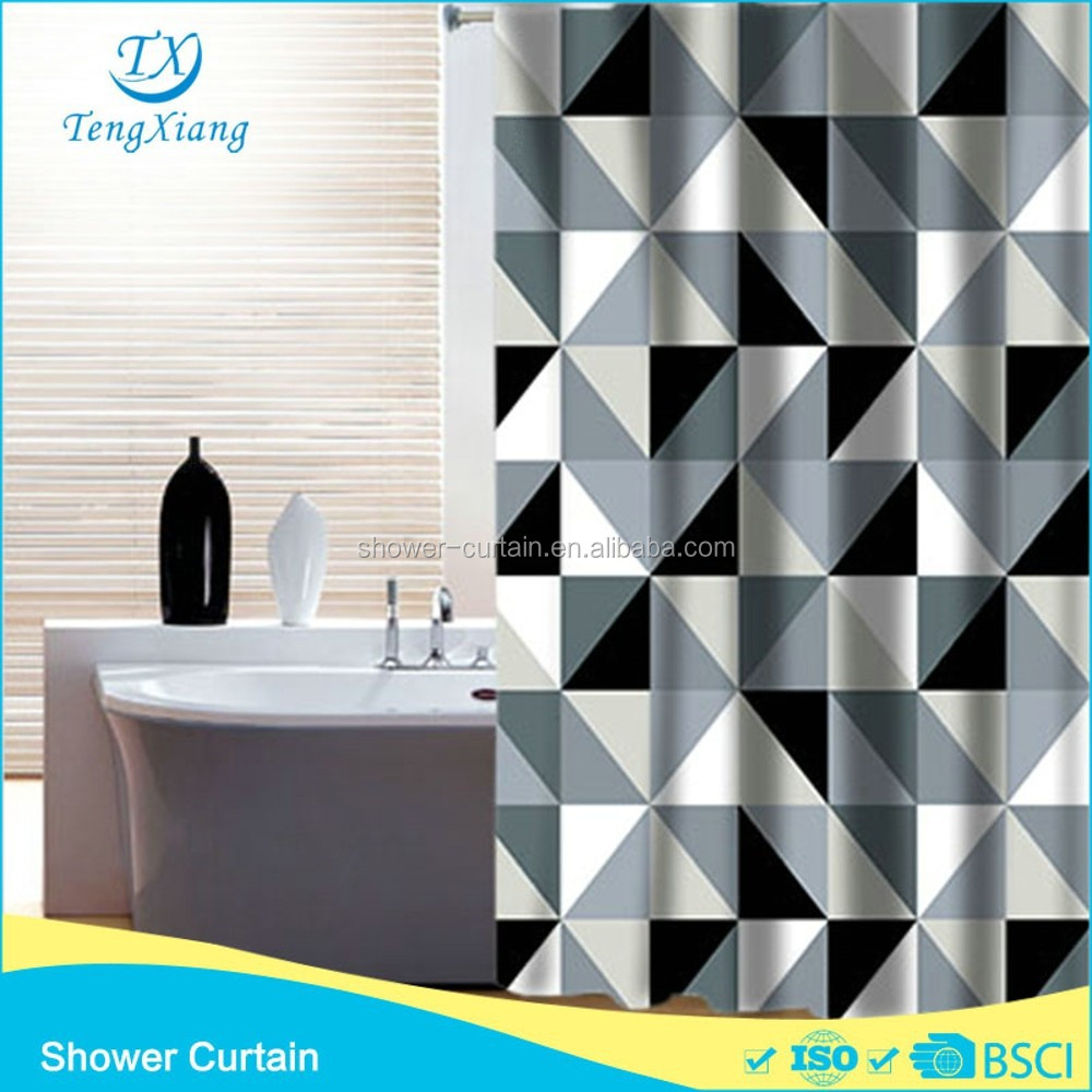 Exterior impermeable geometr a de poli ster ba o tela de - Tela impermeable para exterior ...