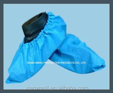 Surgical Non-woven Non-skid shoe covers/shoe coat made by machine