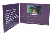Invitaciones de boda tarjeta de vídeo / vídeo folleto, tarjeta de vídeo / folleto para los negocios de pascua navidad tarjetas