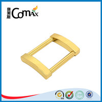 Handbag zinc alloy gold rectangle metal ring for purse